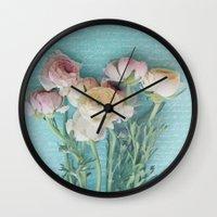 xoxo Wall Clocks featuring XoXo by RDelean