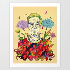 Timothy Leary Art Print