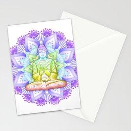 Color Mandala Stationery Cards