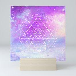 Sacred Geometry (Sri Yantra) Mini Art Print