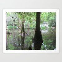 The Painting of Nature Art Print