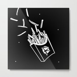 Fries Metal Print