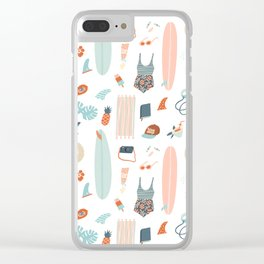 Summer kit Clear iPhone Case