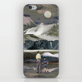 Faraway volcanoes iPhone Skin