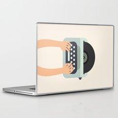 Vinyl Typewriter Laptop & iPad Skin