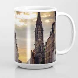 Royal Mile Sunrise in Edinburgh, Scotland Coffee Mug