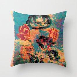 Tulips: Robert Thornton Throw Pillow
