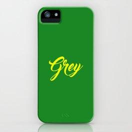 Grey iPhone Case