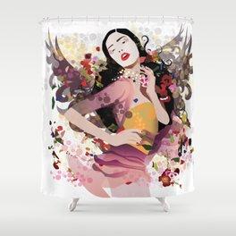 Beauty Angel Shower Curtain