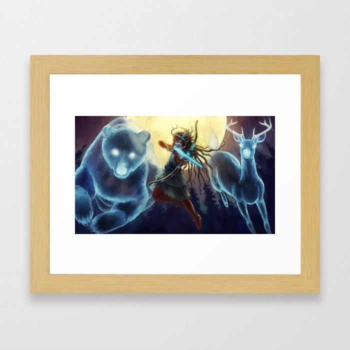 Princess Iphigenia Framed Art Print