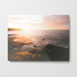 Boat Harbour Sunrise II Metal Print