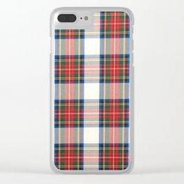STEWART DRESS Clear iPhone Case