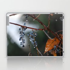 Grapes in a Morning Rain Laptop & iPad Skin