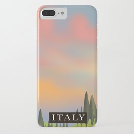 Italy Sunset iPhone Case