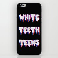 lorde iPhone & iPod Skins featuring White Teeth Teens by Wis Marvin