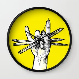 Don't stop drawing! Wall Clock