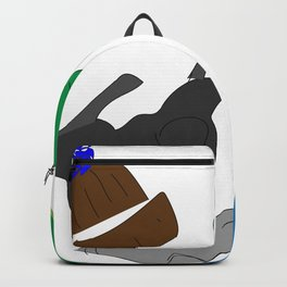 He Loves Fashion (Jeremiah) Backpack