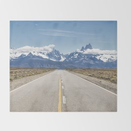 El Chaltén - Patagonia Argentina Throw Blanket