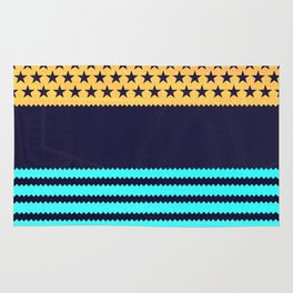 My US Flag & Jeans Rug