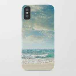 beach love tropical island paradise iPhone Case