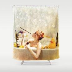 RubaDubDub  Shower Curtain