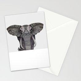 Mandala Elephant Stationery Cards