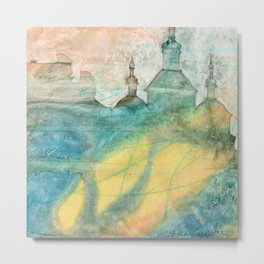 Unity - 22 Watercolor Painting Metal Print
