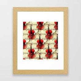 Violin Concerto Framed Art Print