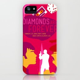 James Bond Golden Era Series :: Diamonds Are Forever iPhone Case
