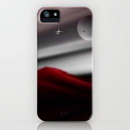 Bergpanorama. iPhone Case