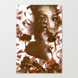 Thai Girl Canvas Print