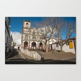 Church in Ponta Delgada Canvas Print