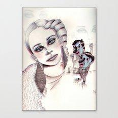 3D Nightmare Canvas Print