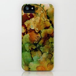 WHEN JUNGLE ATE MOON iPhone Case