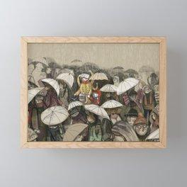 Mother's love Framed Mini Art Print