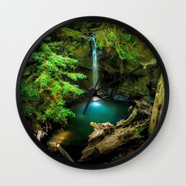 Big Basin Redwoods State Park California United States Ultra HD Wall Clock