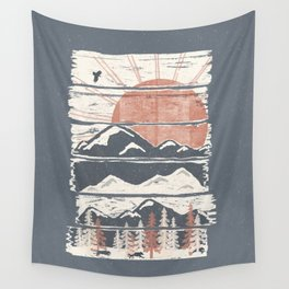 Winter Pursuits... Wall Tapestry
