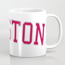 Houston Sports College Font Coffee Mug