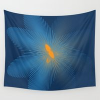 infinity Wall Tapestries featuring INFINITY by Sierra Neale