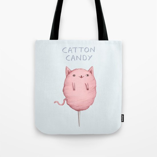 Catton Candy Tote Bag