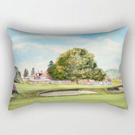 Sunningdale Golf Course 18th Green Rectangular Pillow
