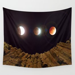My Blood Moon, Skinner Butte combination Wall Tapestry