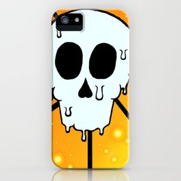Melty Skull iPhone Case