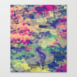 Abstract painting X 0.3 Canvas Print