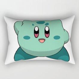 Kirbasaur Rectangular Pillow