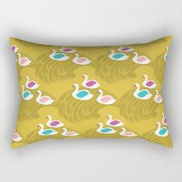 The Swan Song Rectangular Pillow