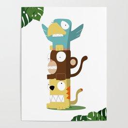 Animal Totem Poster