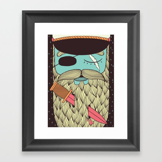 Captain Hope Framed Art Print