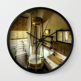 Victorian Shower Wall Clock