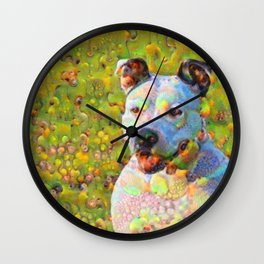 Dream Dog Wall Clock